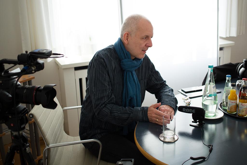 Lutz Debus im Gespräch mit Dr. Regina Börschel